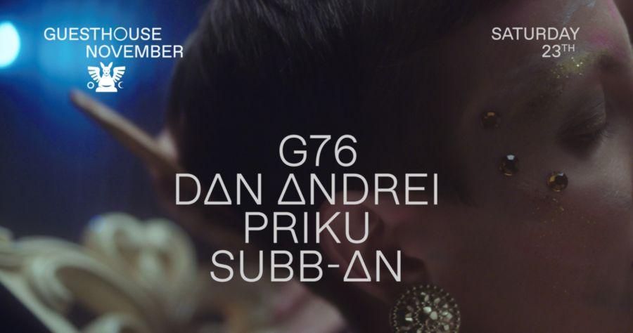 GH 23.11: Dan Andrei / G76 / Priku / Subb-an