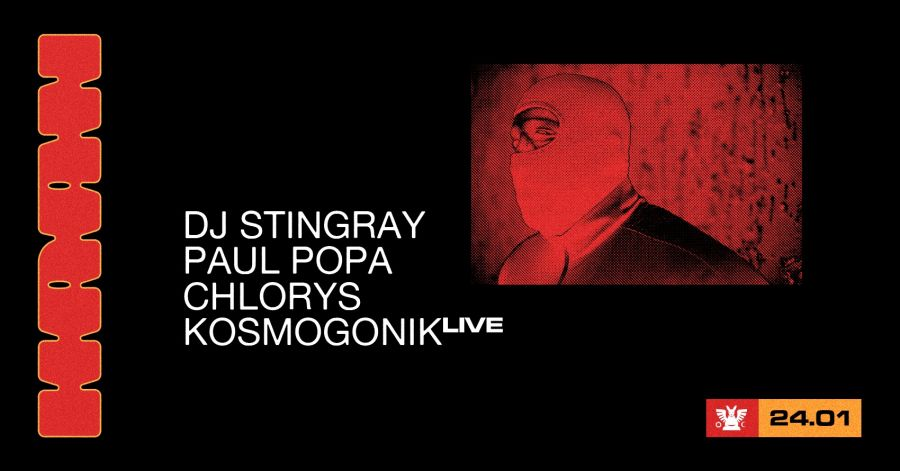 Dj Stingray / Paul Popa / Chlorys / Kosmogonik [at] Guesthouse