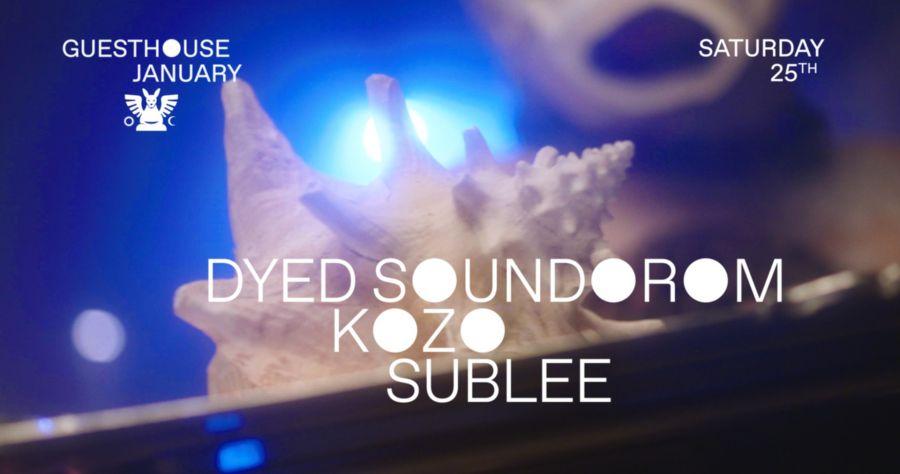 GH 25.01: Dyed Soundorom / Kozo / Sublee / Pirvu