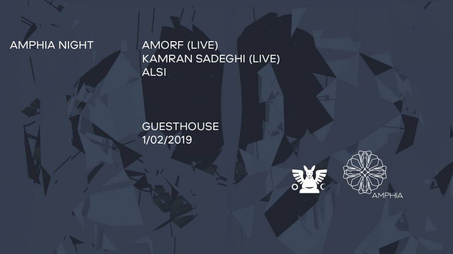 Amphia Night: Amorf / Kamran Sadeghi / Alsi