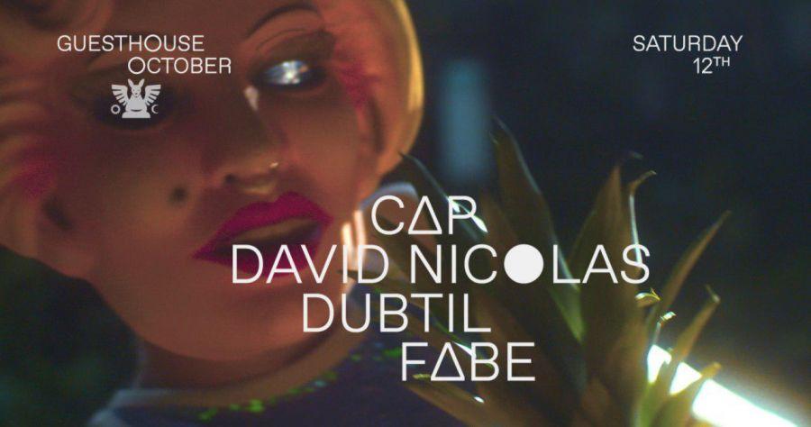 GH 12.10: Cap / David Nicolas / Dubtil / Fabe