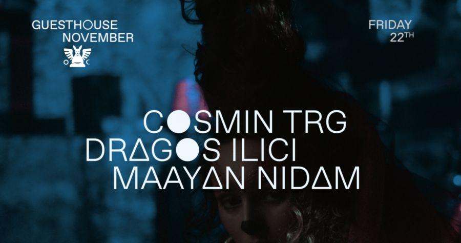 GH 22.11: Cosmin TRG / Dragos Ilici / Maayan Nidam